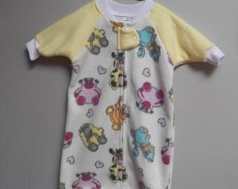 Baby Sleep Sack, Bunting Bag, Sleep Bag, Sleep Sac, Wearable Blanket, Small,   #77