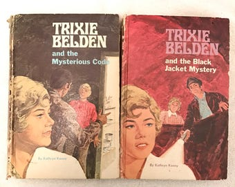 Vintage Hardcover Trixie Belden Books