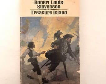 Vintage Treasure Island Book