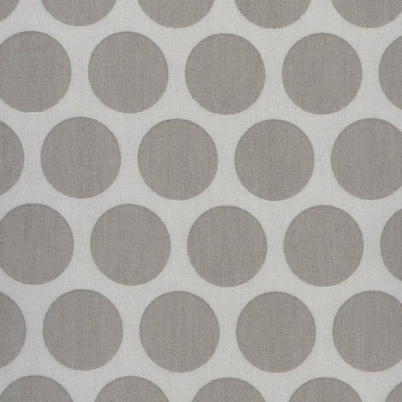Au maison oilcloth super dot grey light grey coated cotton for Au maison oilcloth