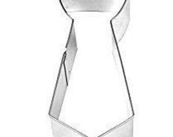 "Neck Tie 6"" Cookie Cutter - Men's Clothing Suit Tuxedo"