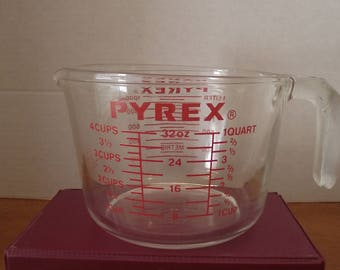 Glass Pyrex Measuring Cup