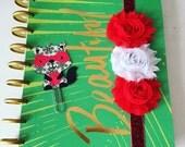 Flower Planner Band - Variety of Colours - Erin Condren Life Planner Bands