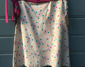 Ladies wrap around skirt , size small , 10