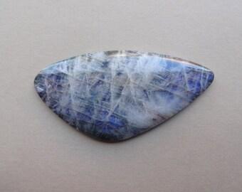 Moonstone Belomorite large design cabochon 53x27 mm