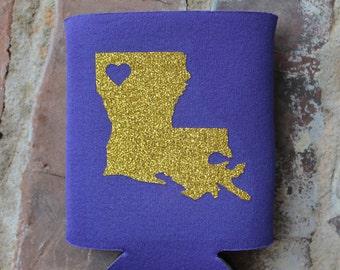 Louisiana Can Holder/Louisiana Can Insulator/Can Wrap
