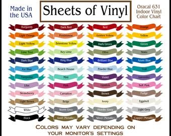"""15 sheets 12""""X12"""" Oracal 631, Oracal vinyl, Oracle vinyl, adhesive vinyl sheet, matte vinyl sheet, indoor vinyl, wall vinyl, vinyl sheets"""