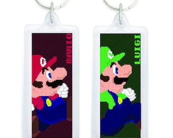 Mario Bro's Keychain