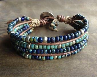 Bohemian bracelet boho chic bracelet hippie bracelet womens jewelry fashion bracelet boho chic jewelry gypsy bracelet stackable bracelet