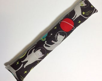 Space Cats Fabric Kick Stick Catnip Cat Toy, Kicker Gift Crown Stars Planets