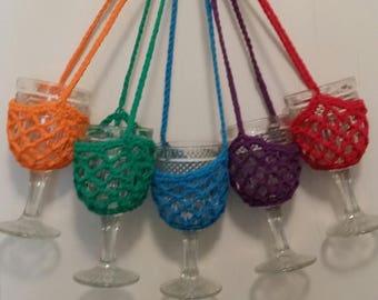 Wine Glass Holder. Wine Glass Lanyard. Wine Glass Necklace. Novelty Gift.