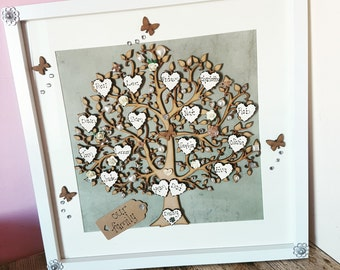 Extra large family tree frame