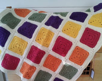 Baby Blanket/Pram Blanket 100% Cotton