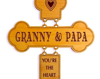 Grandpa and Grandma Gift , Gift for Grandpa, Papa Appreciation Gift, Grandpa Birthday Gift , Custom Grandpa Gift, Grandpa cross, Gigi Gift