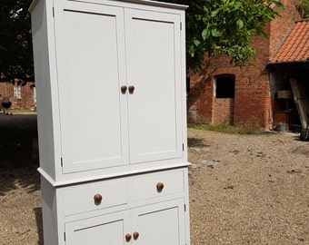 Larder Cupboard Bespoke Handmade in England Painted any colour