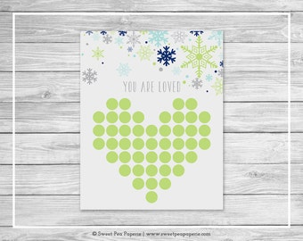 Winter Baby Shower Guest Book - Printable Baby Shower Guest Book - Baby It's Cold Outside Baby Shower - Baby Shower Guest Book - SP142