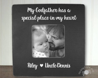 Godfather Gift Godfather Frame Gift for Godfather Godparent Gift Godparent Frame My Godfather Has A Special Place In My Heart IB5FSBAPT
