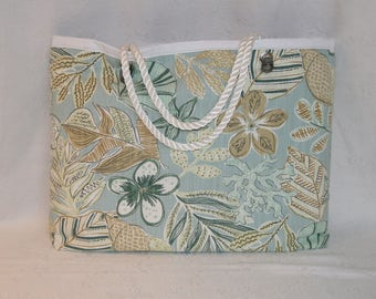 Great beach soothing flowers bag