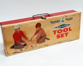 Vintage Handy Andy Tool Box