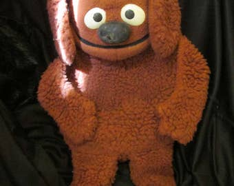 Vintage Toy Rowlf Hand Puppet Muppet Doll 852 by Jim Henson