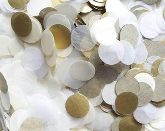 Tissue Paper Confetti, Table Decoration, Confetti Toss, Wedding Decoration, Party Decor, Balloon Confetti, Gold Decoration