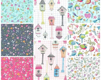 Tweet Me - Fat Quarter Bundle - 8 Prints