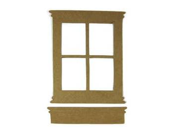 Large Paper Window Set of 6