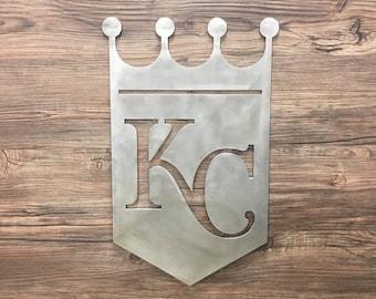 Kansas City Royals Metal Art