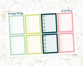 Butterfly Checklists | 8 Stickers