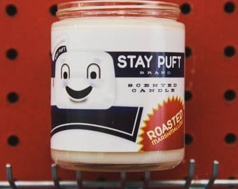 Marshmallow Man Candle