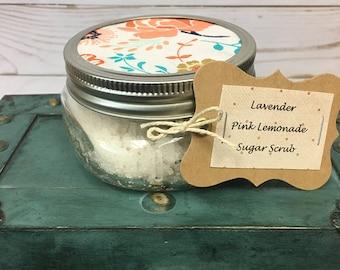 Lavender Pink Lemonade Sugar Scrub