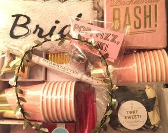 Bachelorette Party Box, Bachelorette Party Supplies, Bachelorette Box, Last Fling Before The Ring