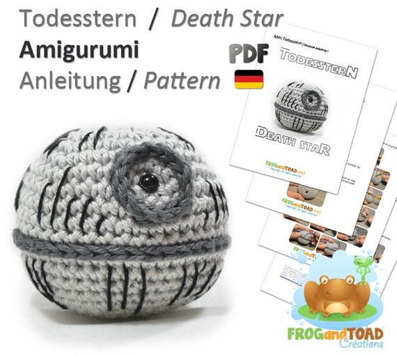 Amigurumi Hakeln Star Wars : Star Wars - Todesstern - Death Star - Amigurumi Hakeln ...