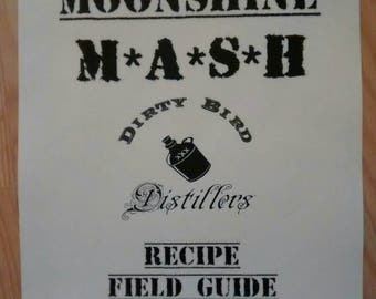 how to make mash for moonshine still