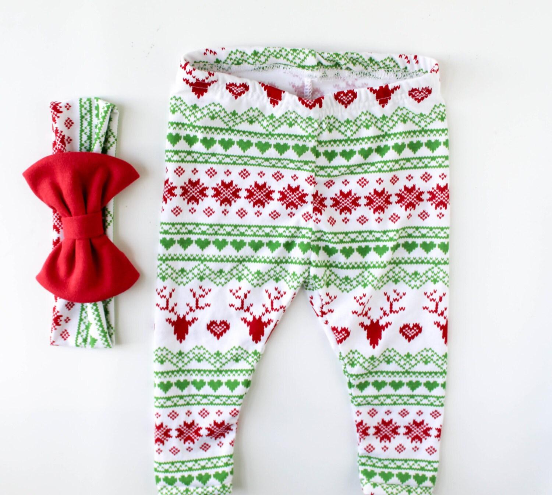 baby christmas leggings toddler christmas leggings baby