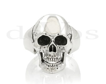 Skull Ring - Medium Full Skull Ring V2