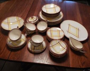 1950's dinnerware set in Santa Monica by Knowles