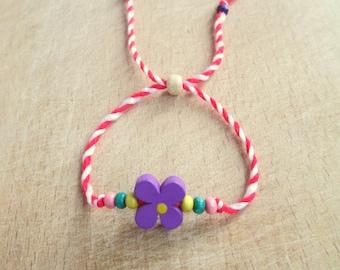 Martenitsa with wooden beads, Bracelets martenitsа, Traditional Bulgarian Martenitsa, Martenitsa bracelet
