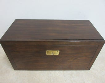 Rare Henredon Scene One campaign Shelf Insert Modular Table top drop front desk