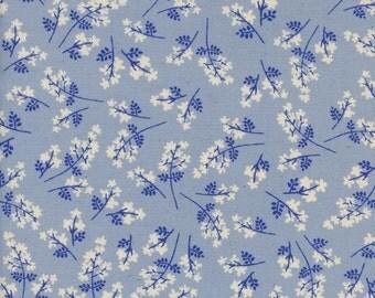 Bouquet - Blue - S.S. BLUEBIRD - Cotton + Steel Fabrics - Collaborative - 5101-01