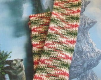 Hand weave scarf