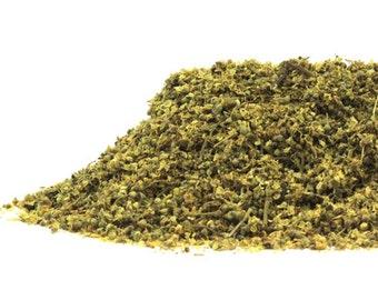 Organic MEADOWSWEET FLOWERS, Kosher. Lovely in herbal teas. Infusions, decoctions, sweetener, spells, sachets, DIY.