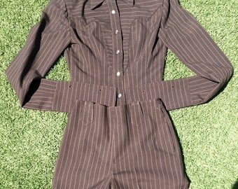 1950's Custom Tailored Western Suit SZ XS