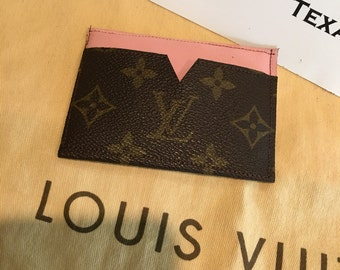 Handmade Louis Vuitton card holder