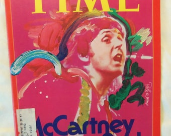 TIME magazine from May 1976; Paul McCartney cover