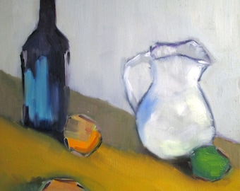 Bottle and Pitcher