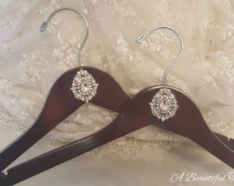 Crystal Embellished Bridal Hangers