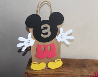 Cute Mickey Mouse Goody Bags