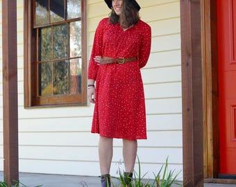 Vintage Vibrant 70s dress