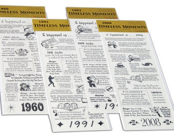 Timeless Moments Year Stickers It Takes Two